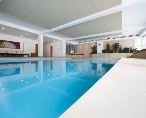 Pool mit Gegenstromanlage